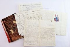 Letters and Family Genalogy of George and Thomas Lemont of Bath Maine