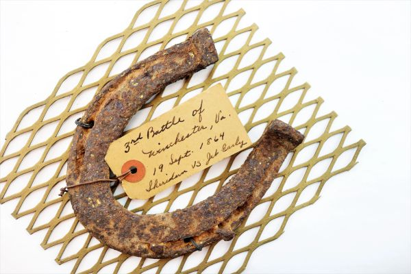 Horse Shoe From 3rd Battle of Winchester, VA
