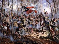 Men of Arkansas by Don Troiani
