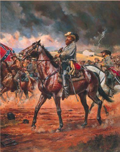 Major General J.E.B. Stuart by Don Troiani