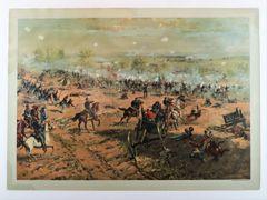 Battle of Gettysburg by Louis Prang