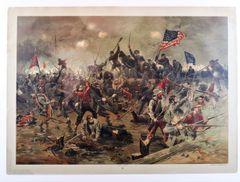 Battle of Spottsylvania by Louis Prang