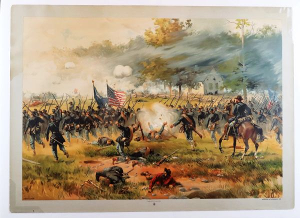 Antietam by Louis Prang