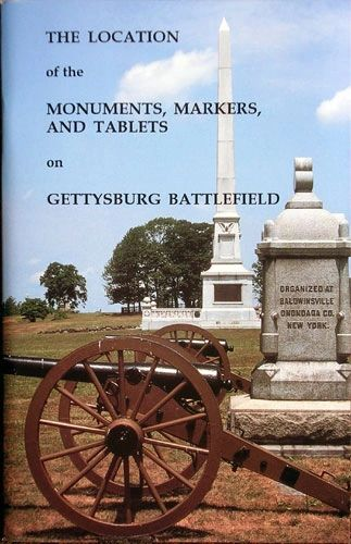 The Location of Monuments, Markers, and Tablets on the Gettysburg Battlefield