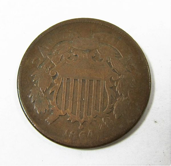 Civil War Two Cent Piece