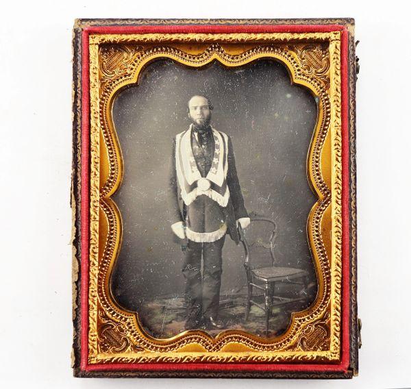 Masonic Daguerreotype