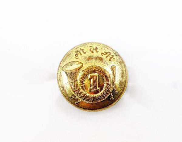1st Massachusetts Volunteer Infantry Button