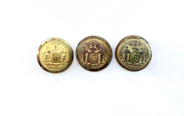 Gettysburg Excavated Maryland Buttons