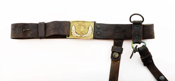 M1851 Buff Leather Sword Belt