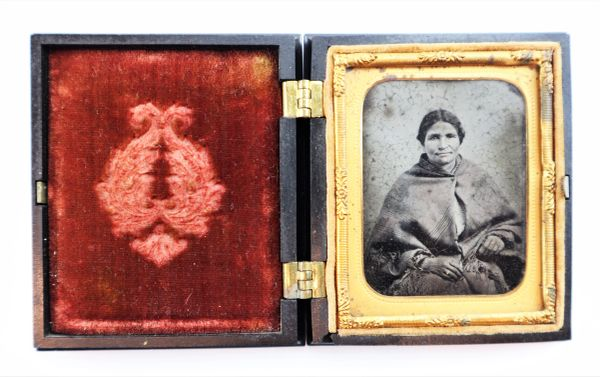 Indian Woman Ambrotype