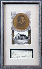 Abraham Lincoln Autograph /SOLD
