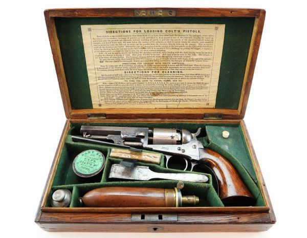 Cased London Colt Model 1849 Percussion Pocket Revolver