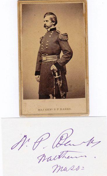 General Nathaniel Prentiss Banks