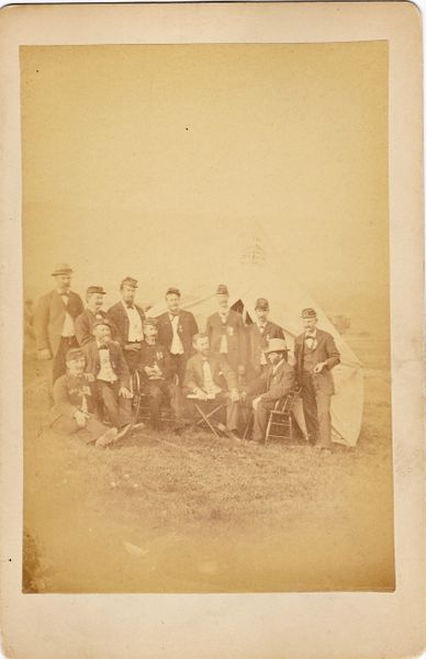 Gettysburg 25th Reunion Cabinet Card