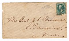 Joshua Lawrence Chamberlain Autographed Envelope