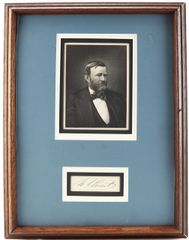Autograph of Ulysses S. Grant / SOLD