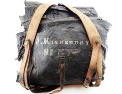 Identified Knapsack of John Kingsbury, 81st New York Infantry