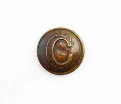 Confederate Cavalry Button