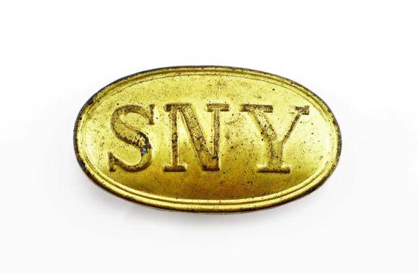 SNY Belt Plate - 1839