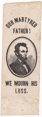 Abraham Lincoln Mourning Ribbon