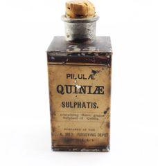 Civil War Quinine Tin