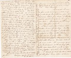 Outstanding Civil War Letter Describing Watching his BRother in the Battle of Fredericksburg