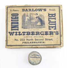 Barlow's Indigo Blue