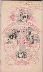 1864 Almanac