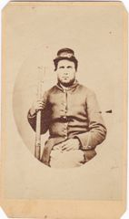 CDV of Slodier with Musket