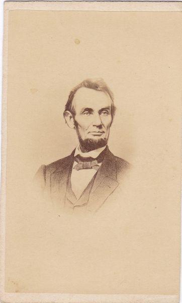 Abraham Lincoln CDV