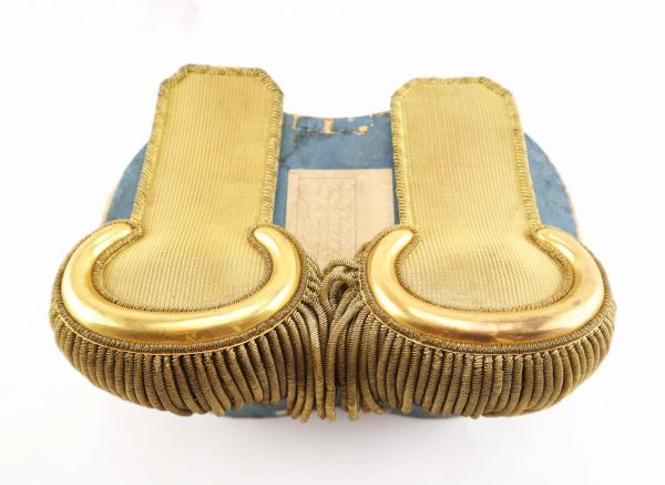 Shoulder Epaulets of Isaac Ferdinand Quinby