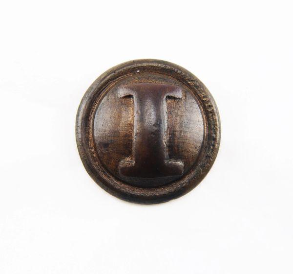 Gettysburg Confederate Infantry Button