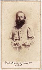 Confederate General J.E.B. Stuart CDV