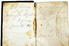 Inscribed Soldier's Bible