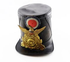 Civil War Chasseur Pattern Leather Shako / On-hold