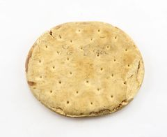 Identified Civil War Period Hardtack Biscuit