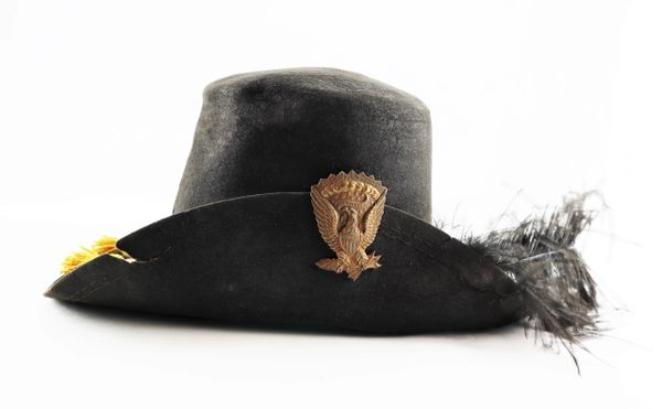 Model 1858 Cavalry Hardee Hat / Sold