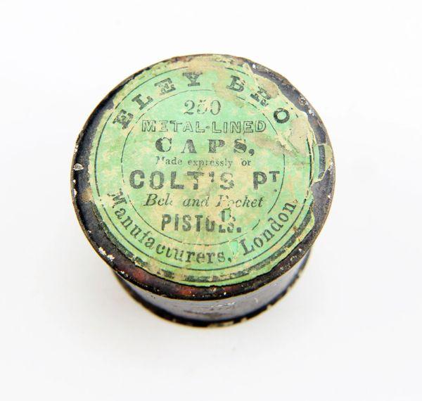Colt Percussion Capas for Pistol