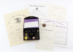Collection of Items Pertaining to Charles M. Newbegin