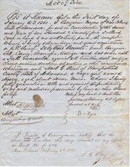 Slave Bill of Sale / Sold