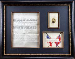 Jefferson Davis Autograph / Sold