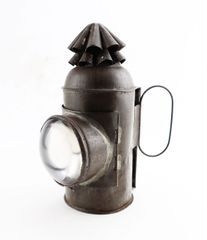 Civil War Era Marine Signal Lantern / Sold