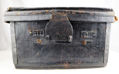 Embossed Leather Trunk
