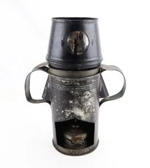 Civil War Nurses Tin Lamp with Burner / SOLD