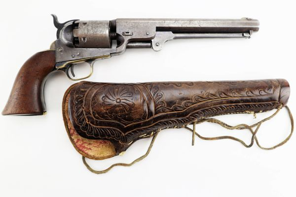 Colt 1851 Navy Revolver with Holster / Sold
