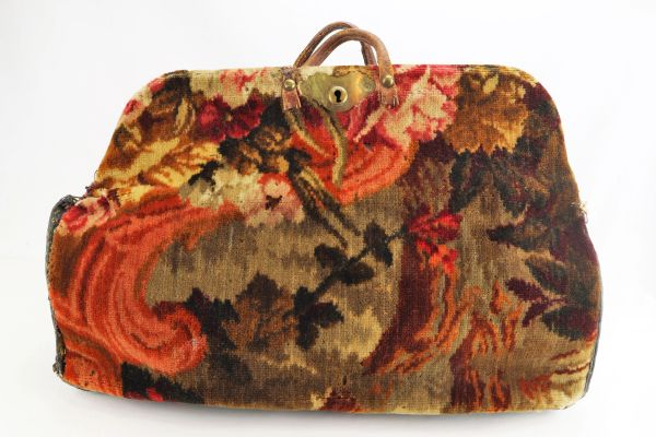 Civil War Carpet Bag