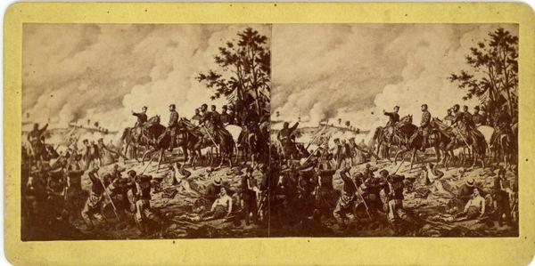 Battle of Gettysburg July 2nd, 1863