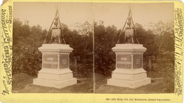 Tipton's 10th Massachusetts Volunteer Infantry Monument