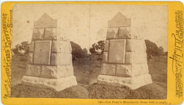 Tipton's 71st Pennsylvania Monument