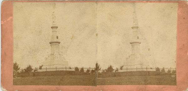 Tipton and Myers' Stereoscopic Views Monument in Soldiers' National Cemetary